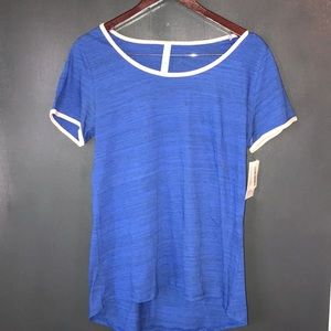 Blue and pink Classic tee